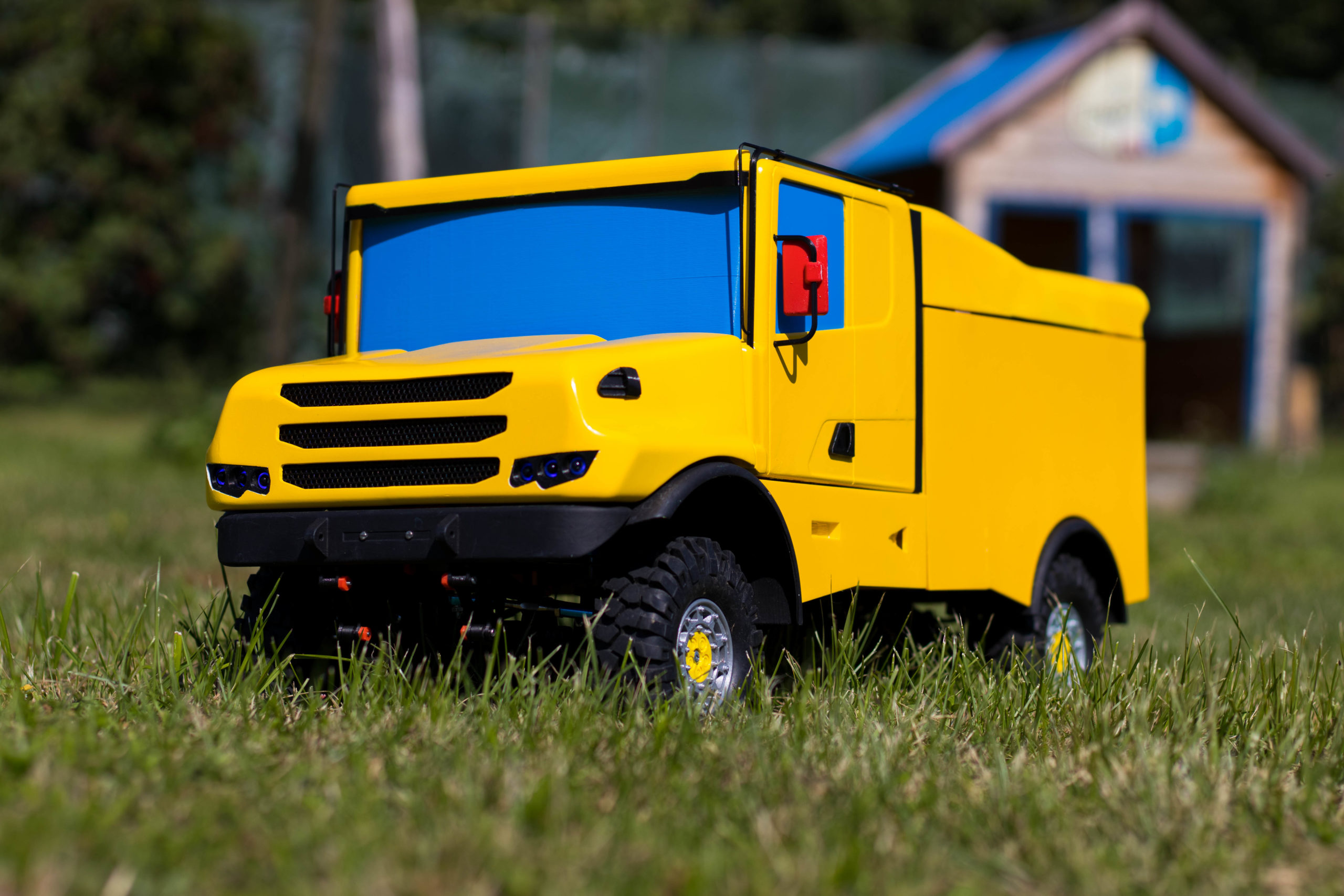 Model Scania 4×4 Dakar